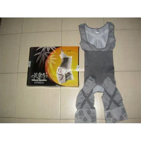 Korset Slimming Suit Pelangsing Perut Kecantikan Baju Pembakar Lemak Bamboo Baju Pelangsing Singlet Korset Wanita