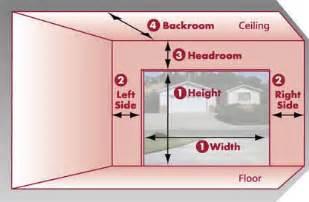How To Measure Garage Door Start Your Building Project Right Garage Door Measuring Guide