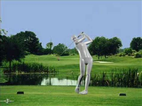 Modelpro Interactive Perfect Golf Swing Screen Saver From