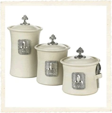32 best images about fleur de lis kitchen canisters on pinterest ceramics jars and one kings lane