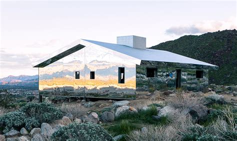 Mirrored Cabin by This Mirrored Cabin Has Taken Coachella Valley