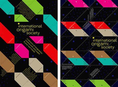 Origami Society - the international origami society on behance