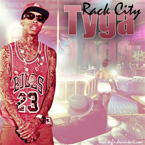 Rack City Tyga by Tyga Rack City Single Artwork By Awhitegfx On Deviantart
