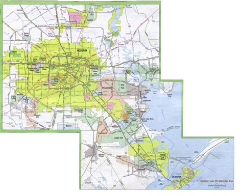 map of texas city tx houston zoning map