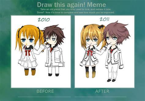 Draw This Again Meme Template - draw this again meme by moonshinehp on deviantart