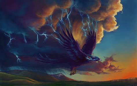 imagenes mitologicas thestormstories the thunderbird rumbling and illumination