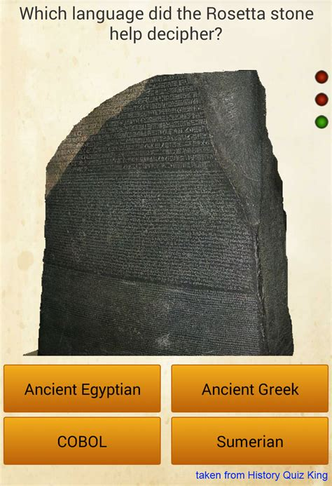 rosetta stone jokes playing history quiz king when suddenly programmer
