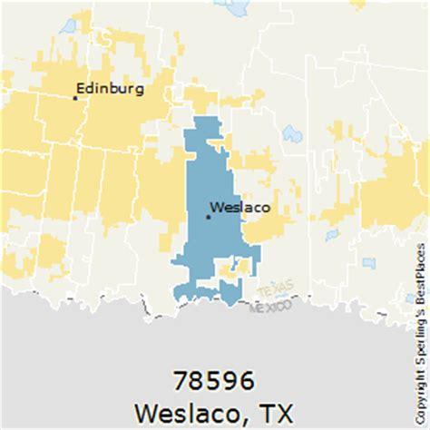 mcallen texas zip code map best places to live in weslaco zip 78596 texas