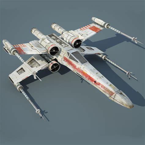 best x wing model 3ds max wars x wing starfighter