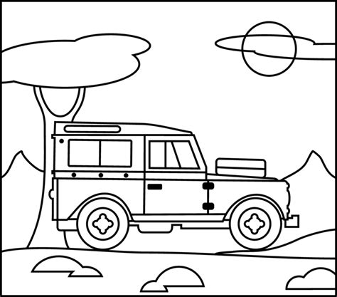 free coloring page jeep jeep printable coloring page jeep beach kids