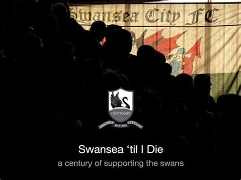 Novel You Till I Die swansea til i die trust launch its centenary book swansea city supporters trust