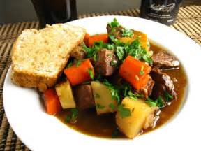Ecuador Main Dishes - irish lamb stew on closet cooking