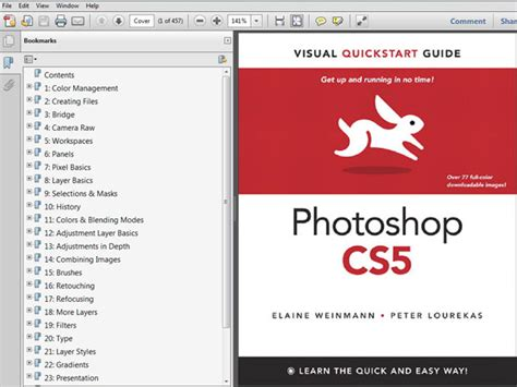 tutorial photoshop cs5 step by step photoshop cs5 visual quickstart guide ebook file software