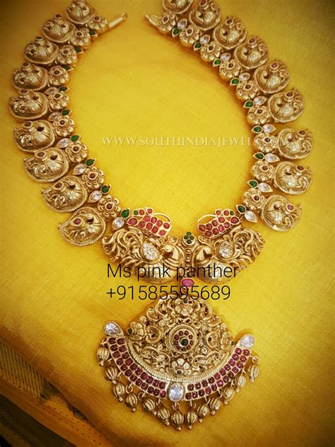 Mango Original Pink gold plated mango mala from ms pink panther pink