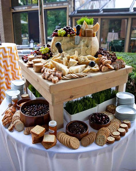 Wedding Reception Foods Ideas by 14 Delicious Food Bars For Your Wedding Martha Stewart