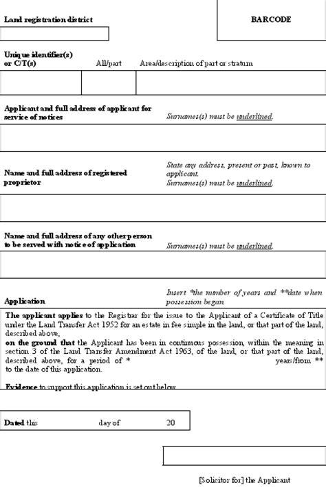 Land Transfer Regulations 2002 (SR 2002/213) (as at 31
