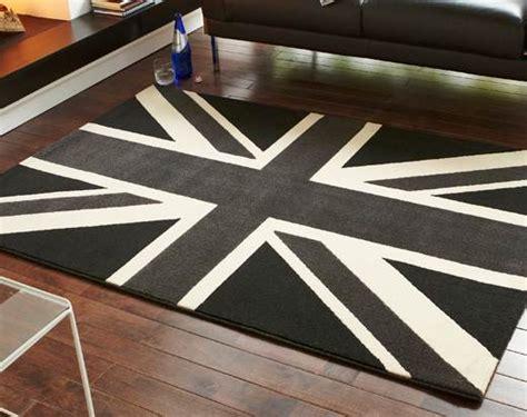 Grey Union Rug by Childrens Bedroom Funky Pattern Union Black Grey Budget Design Rug Ebay