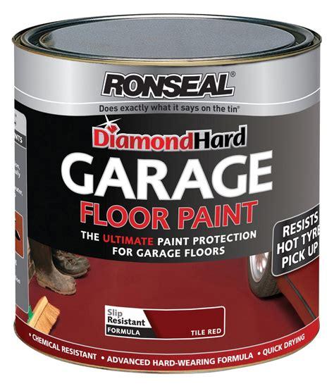 Garage Floor Paint Ronseal Colours Grey Satin Floor Paint 2 5l Departments Diy At B Q
