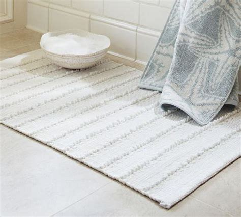 Pottery Barn Bathroom Rugs Chindi Bath Rug Pottery Barn