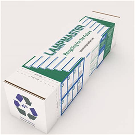 fluorescent l recycling boxes help finding the right recycling kits lmaster
