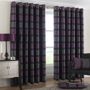 contemporary and stylish chenille ring top lined curtains