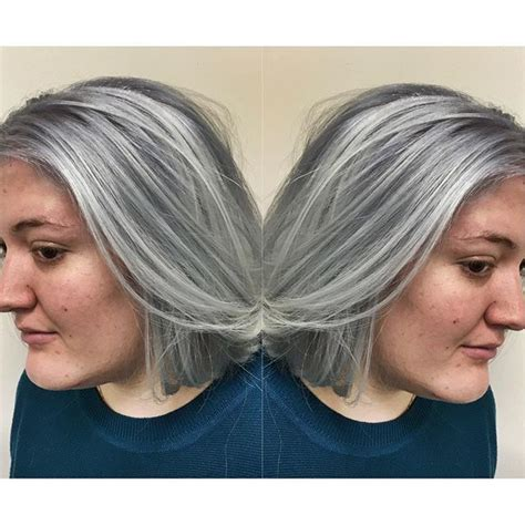 pictures of frosted or highlighted hair 500 best images about highlighted streaked foiled