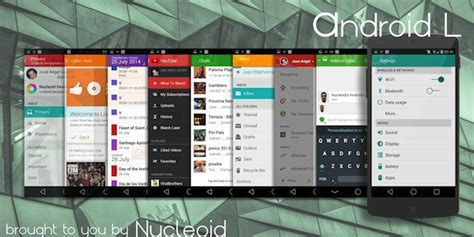 material design themes android get the android l material design look on your phone with