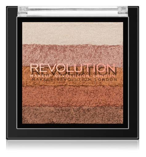Makeup Revolution Shimmer Brick makeup revolution shimmer brick bronzer a rozjas蛻ova芻 2 v