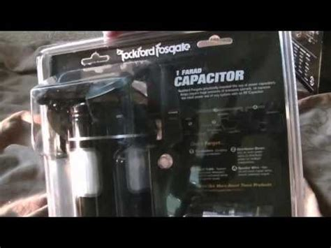 rockford fosgate 10 farad competition capacitor vectra b 2 0 i rockford fosgate power cap rfc1d doovi