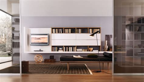20 Modern Living Room Wall Units For Book Storage From Modern Living Room Storage Units