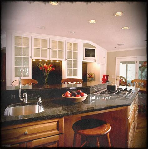 projects design kitchen island with stove has chiefs