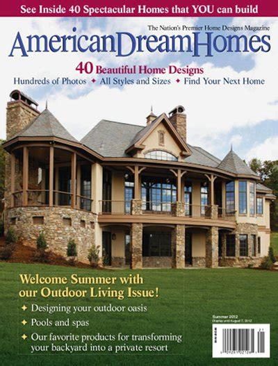 house plan magazines american dream homes summer 2012 187 pdf magazines archive