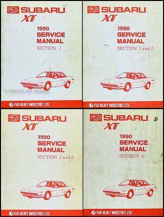 buy car manuals 1990 subaru xt auto manual service manual pdf 1990 subaru xt repair manual subaru xt 1988 1990 repair manual patrick