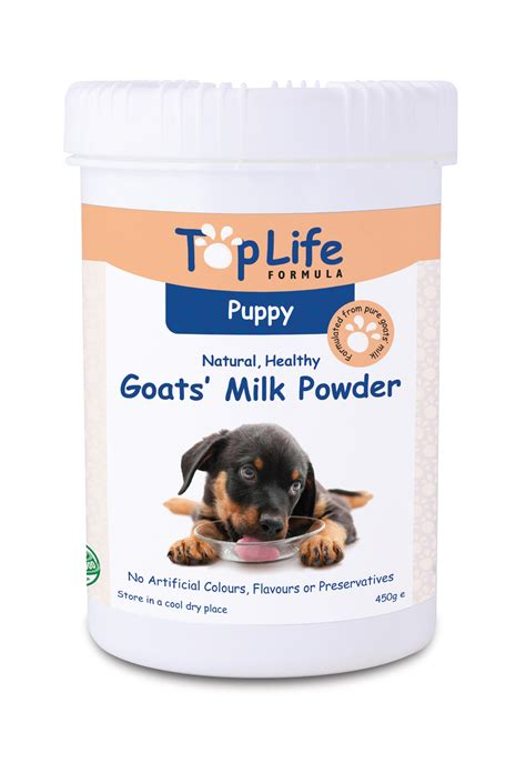 goats milk for puppies goat s milk powder for puppies