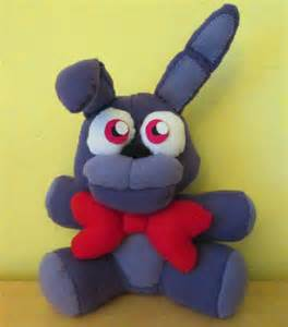 Finally finished my bonnie the bunny plush i m pretty proud of