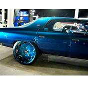 AceWhipsNET  Candy Teal Chevy Donk On 26 Forgiatos YouTube