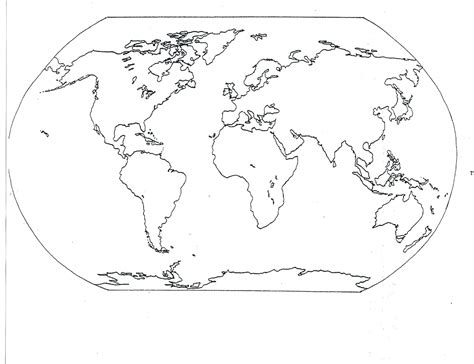 world map for students to fill in blank seven continents map mr guerrieros blog blank and