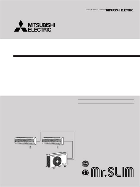 mitsubishi air conditioner troubleshooting guide mitsubishi electronics air conditioner ms09nw2 user guide