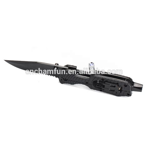 personalized pocket knife with light personalized rescue survival folding cing pocket knife