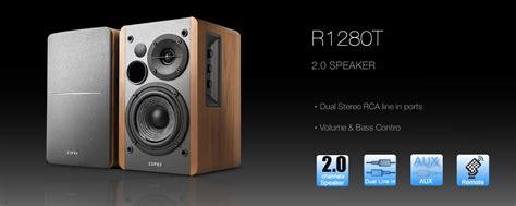 Edifier R1280t Speaker edifier r1280t 2 0 studio speaker system speaker gt edifier speaker computer accessories