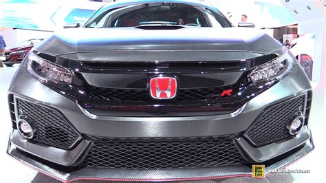 honda civic 2017 type r interior 2017 honda civic type r exterior and interior walkaround