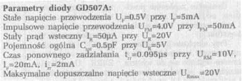 dioda 1n4148 parametry dioda 1n4148 parametry 28 images by229 800v 8a 135ns dioda impulsowa diody impulsowe gbp206