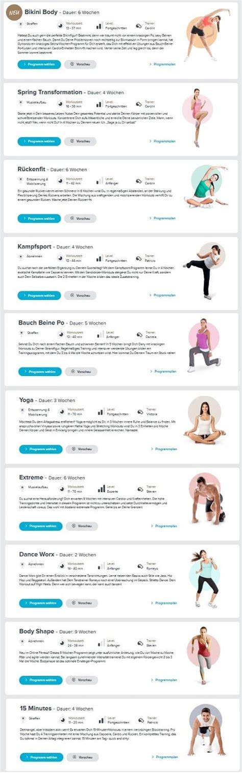 workout zu hause abnehmen gymondo erfahrungen di 228 tplan kostenlos
