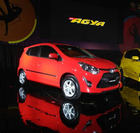 All New Toyota Agya all new toyota agya tahun 2017 warna merah setia1heri
