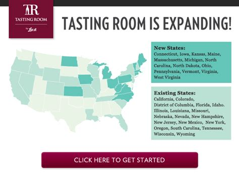 tasting room by lot 18 tasting room wine subscription now available in more states my subscription addiction