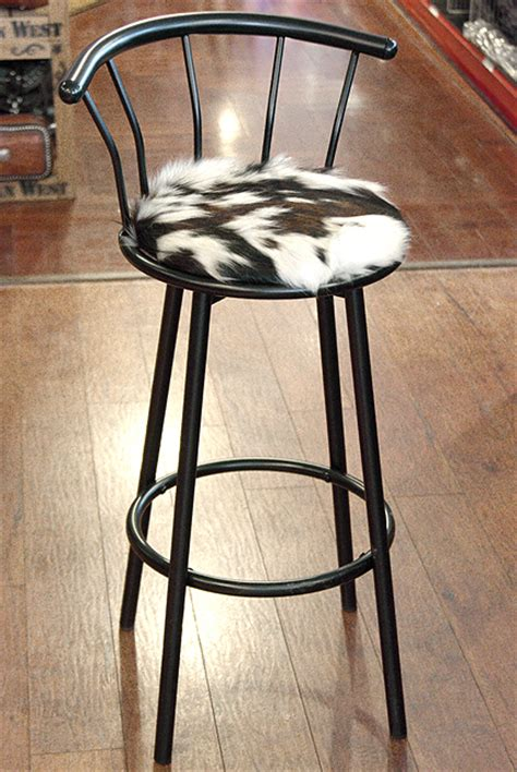 Stool Texture Changes by Western Genuine Leather Cowhide Hair On Bar Stool Ebay