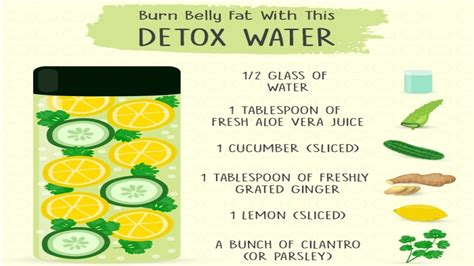 Detox Water While Working Out by If You Drink This Before Sleep You Will Burn Belly