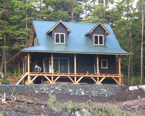 20 Wide 1 1 2 Story Cottage In Alaska Cabin Floor Plans With Wrap Around Porch