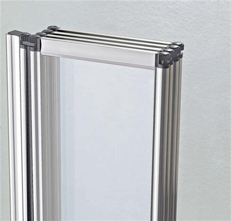 folding glass bath shower screen 4 fold 900 x 1400mm folding shower bath screen glass door panel nd ebay