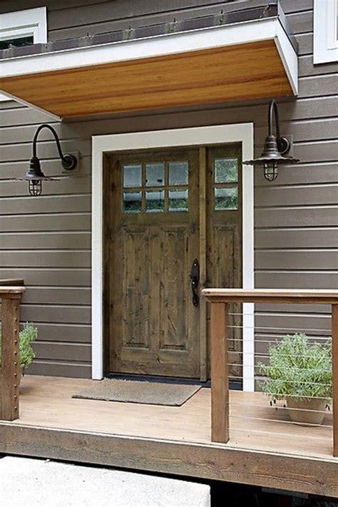 front door awnings wood 80 alluring front door designs to refine your home